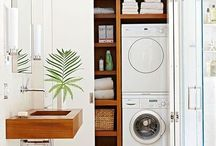 l a u n d r y / Laundry space design