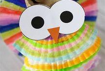 Kids Crafts Owls