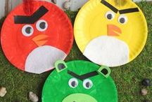 Kids Crafts Angry Birds