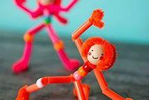 Kids Crafts Dance