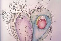 Doodle Dee Do! / Zentangle - The Fine Art Of Doodling!