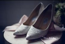 Bridal Shoes / An beautiful collection of bridal shoes for your wedding day and beyond