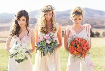 Beautiful Bridesmaids / Bridesmaid and flower girl images