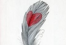 Feathers Are Everywhere! / Feathers / by Sandy English
