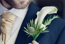 Gorgeous Grooms / A collection of images of grooms and groomsmen to inspire and adore