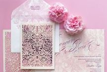 Inspiring Invites / A collection of invitations and stationery goods to inspire and adore