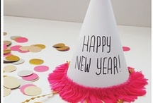 Occasions - New Years Eve Themes / NYE theme party ideas and inspirations