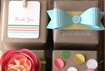 gift & packaging ideas. / by Chelsea Nunn
