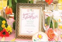 Bridal Shower - A Touch of Floral / Simple, pretty, with a touch of floral