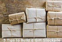 Creative Gifts / Ideas to give unique and inexpensive gifts. / by Sarah Koch