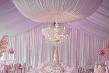 Venues - Drapery / Drapery ideas for styling your venue