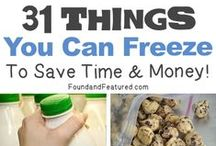 Food Tips / Tips on substitutes and methods.  Also ideas to make food healthier. / by Sarah Koch