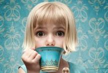 CHILDREN | and tea / Hello my dear, would you like to have a cup of tea ?