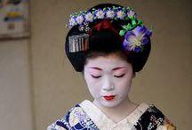 KIMONO's   and TEA / The Traditional Japanese Tea ceremony