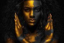 Metallic Bodyart Photography / metallic-effects / bodyart - some examples and photography ideas..