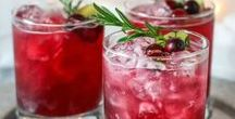 Beverage Recipes / Healthier drink options for adults to enjoy in moderation.