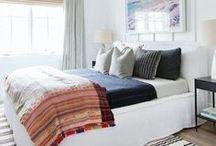 Bedroom / The best bedrooms and sleeping spaces gathered up on Pinterest.  Interior design inspiration!