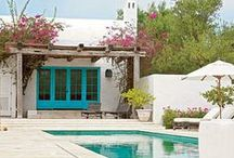 Exterior / Everway to live outside, entry, pools, terraces, porches, courtyards, patios, gardens, backyards, front yards, landscaping
