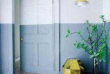 Walls / Wall treatments: wallpaper, tiles, plaster, paint, stencils
