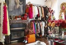 Closets / All the places that people get ready - closets and dressing rooms.