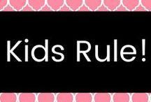 Kids Rule❗️ / Great ideas for babies, kids, pregnancy & more.