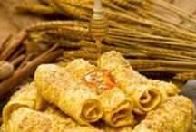 Greek Food & Flavors / Traditional dishes, desserts & treats Greeks grew up with!