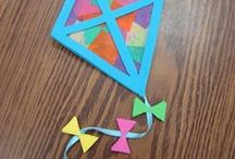 KIDS CRAFTS / CRAFTS OF THE KID VARIETY