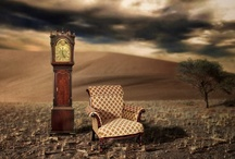 """it's about TIME . .  .   .    .     .      .       .        .        . / """"Time and the bell.The sun dial on my chest.The breast plate that is my inheritance.The sun makes his circuit and drags me with him,traces his journey over my body,leaving deep ruts where the shadows collect.Time passes over me,the shadows lengthen,the dial darkens.""""- from Art & Lies/Jeanette Winterson / by midoshichi takuku"""