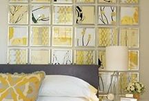 Groovy Home Decor / Who doesn't like a bit of glitz and glamour to aspire to?