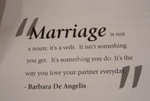 Til Death Do Us Part / Living (almost) perfectly with that imperfect person aka The Love of Your Life