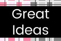 Great Ideas! / Great ideas and awesome life hacks!