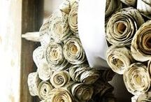 Make Stuff from Old Books / Repurposed Books, DIY projects using books, Reuse books.