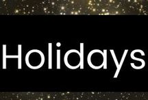 Holidays / Assorted Holiday Ideas to Keep You Busy All Year Long. :-)