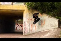 Got wheels? / Skateboarding. Mostly street videos, but some other stuff might slip in. / by Daan Artist