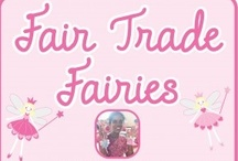Fair Trade Fairies / Fair Trade Fairies are made by Believe you Can. They are designed in the UK and handmade in India.