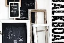 Chalkboard, blackboard....