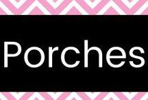 Porches / Ideas for our porch.