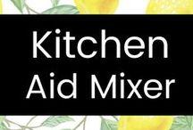 KitchenAid Mixer / Great ideas for my KitchenAid mixer!