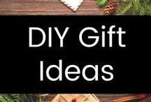 DIY Gift Ideas / Frugal DIY gifts ideas for Christmas, showers, birthdays, and more!