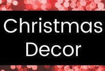 Christmas Decor / These lovely images reflect my winter and Christmas holiday decorating style: cozy, warm, inviting, rustic.