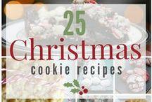 CHRISTMAS: COOKIES / Christmas cookies galore!