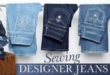 Sewing Designer Jeans on Craftsy! / Sewing and Designing Jeans
