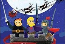 TheKnightsBeforeChristmas / On Christmas Eve, three little knights guard their castle against an invader . . . Santa Claus! The Knights Before Christmas a Christmas kids book by Joan Holub and Scott Magoon. Happy holidays!