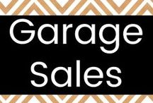 Garage Sales / Garage sale tips for both buyers and sellers.