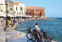 Travel to Chania, Crete / Chania is the second largest city of Crete and the capital of the Chania regional unit. The old town of Chania is situated next to the old harbour and is the matrix around which the whole urban area was developed.