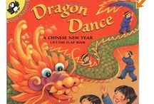 Dragon Dance Chinese New Year / Lunar New Year, Chinese New Year, Lift-the-Flap book for children.