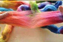 Spinning and Fibre / Hand-spinning inspiration and beautiful fibres to spin with