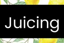 Juicing / Getting healthy by incorporating healthy, fresh, juice recipes into our daily life.