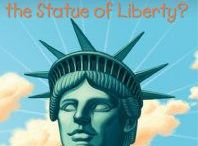 What Is the Statue of Liberty? / Statue of Liberty activities, freebies, lesson plans for What Was the Statue of Liberty by Joan Holub. Love the make your paper plate crown and torch pins!