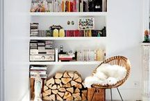 Bookshelves / All the best places to store books, including reading nooks and libraries. #bookporn